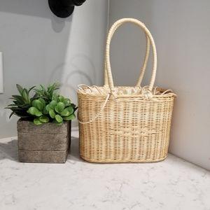Handbags - RATTAN HANDBAG